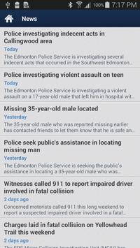 Edmonton Police Service Mobile screenshot 1