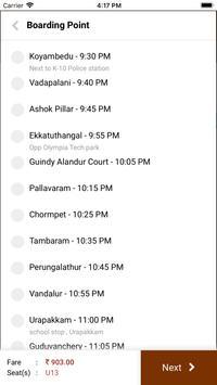 Luxury Logistics - Online Bus Tickets Booking screenshot 4