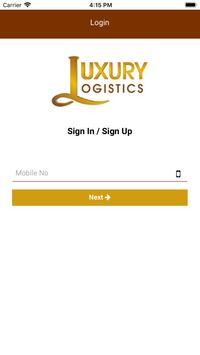Luxury Logistics - Online Bus Tickets Booking poster