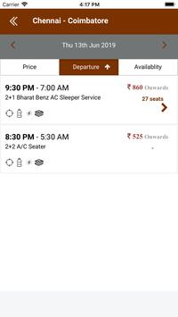Luxury Logistics - Online Bus Tickets Booking screenshot 2