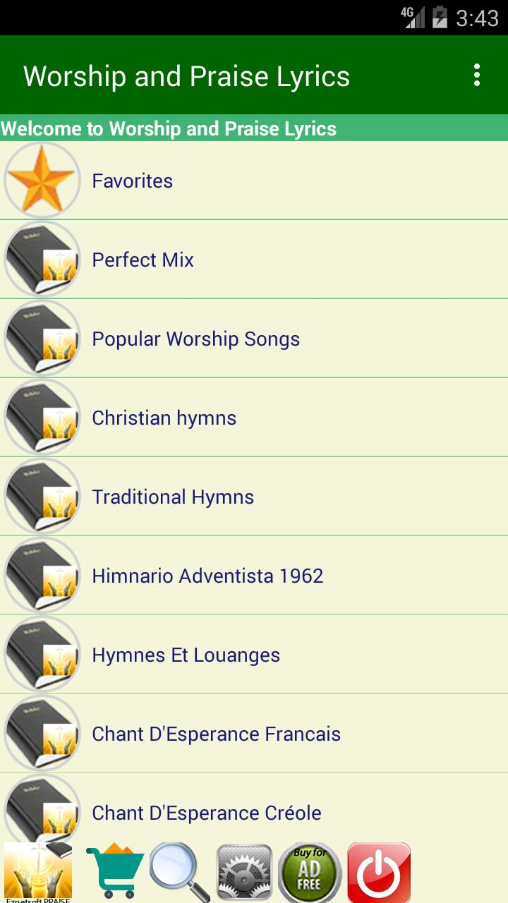 Worship and Praise Lyrics for Android - APK Download