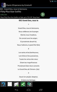 Chants D'Esperance with Tunes screenshot 2