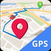 GPS, Maps, Navigate, Traffic & Area Calculating icono