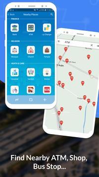 GPS, Maps, Navigate, Traffic & Area Calculating captura de pantalla 3