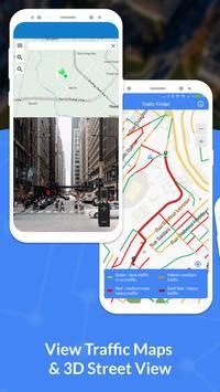 GPS, Maps, Navigate, Traffic & Area Calculating captura de pantalla 1