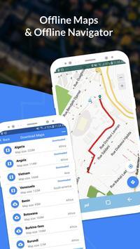 GPS, Maps, Navigate, Traffic & Area Calculating captura de pantalla 2