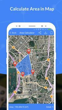GPS, Maps, Navigate, Traffic & Area Calculating captura de pantalla 4