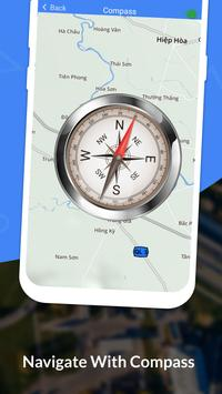 GPS, Maps, Navigate, Traffic & Area Calculating captura de pantalla 5