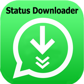 status saver: photo and video status downloader icon