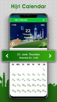Tempos de Oração: salah time & qibla Direction imagem de tela 3