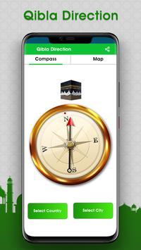 Tempos de Oração: salah time & qibla Direction imagem de tela 8