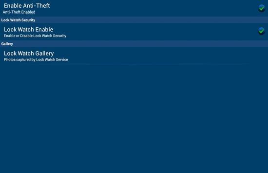 eScan Tablet Security screenshot 10