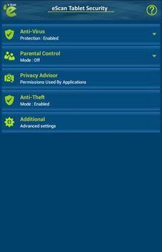eScan Tablet Security screenshot 12