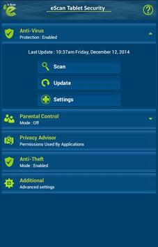 eScan Tablet Security screenshot 13