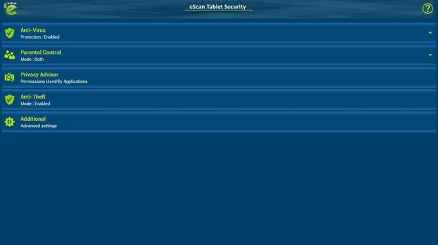 eScan Tablet Security screenshot 6