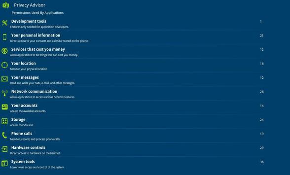 eScan Tablet Security screenshot 9