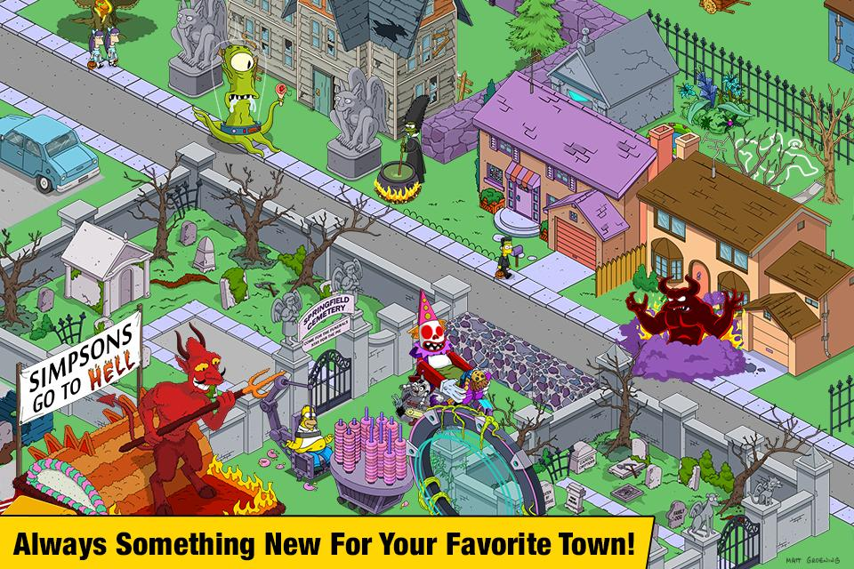The Simpsons™: Tapped Out for Android - APK Download