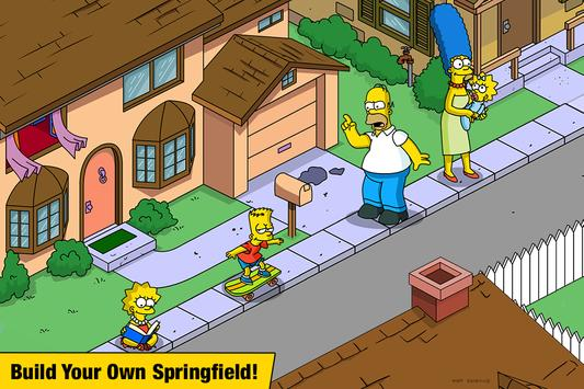 The Simpsons™: Tapped Out पोस्टर