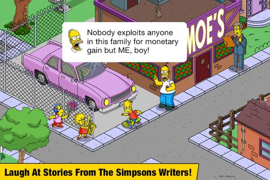 The Simpsons™: Tapped Out स्क्रीनशॉट 10