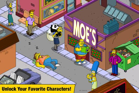 The Simpsons™: Tapped Out स्क्रीनशॉट 1