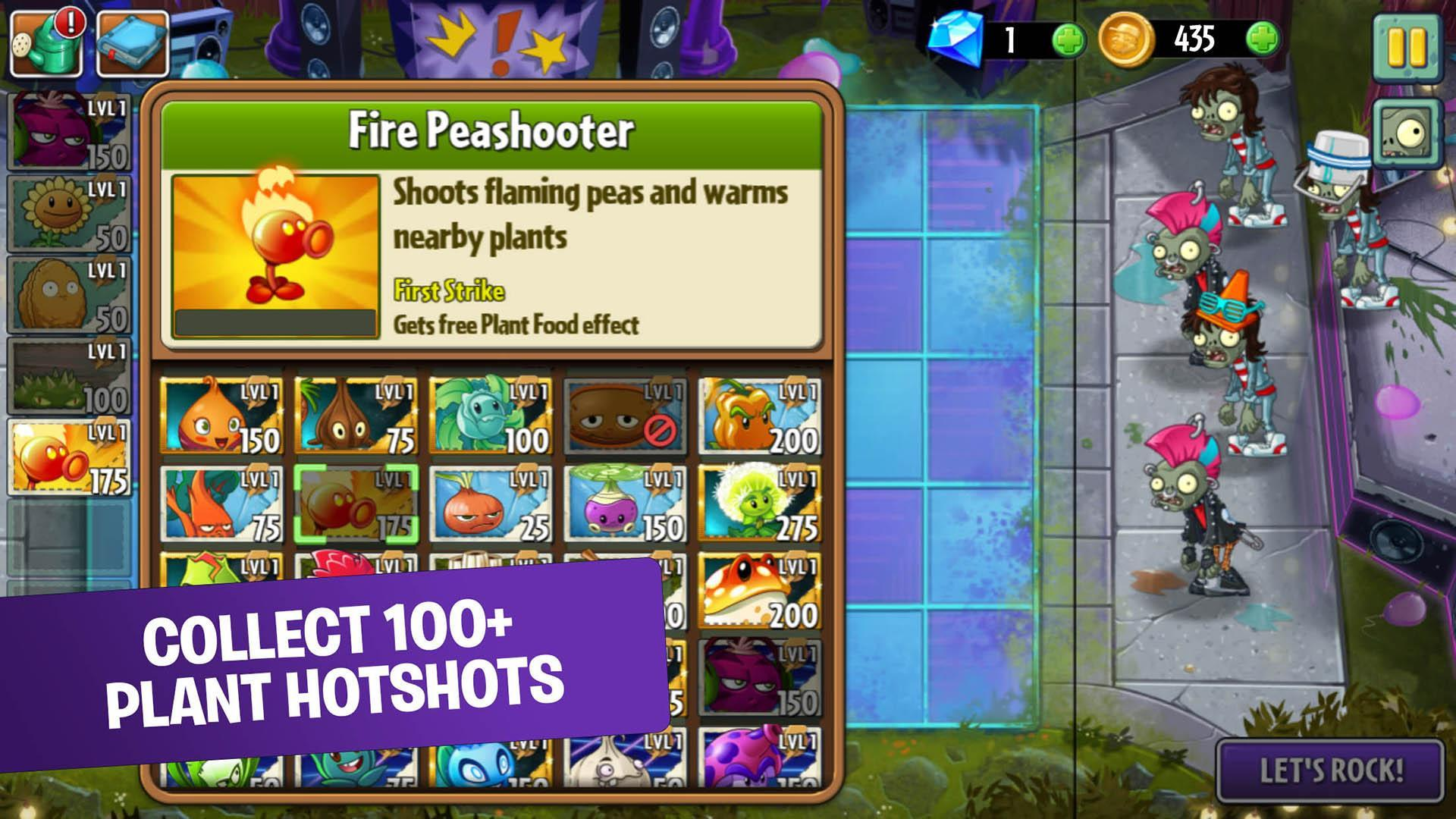 Plants vs. Zombies™ 2 free for android apk download.