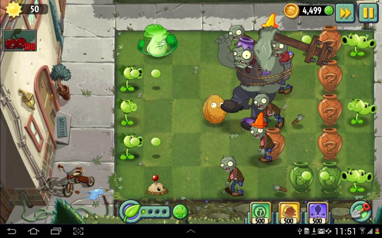 plants vs zombies 2 free download apk