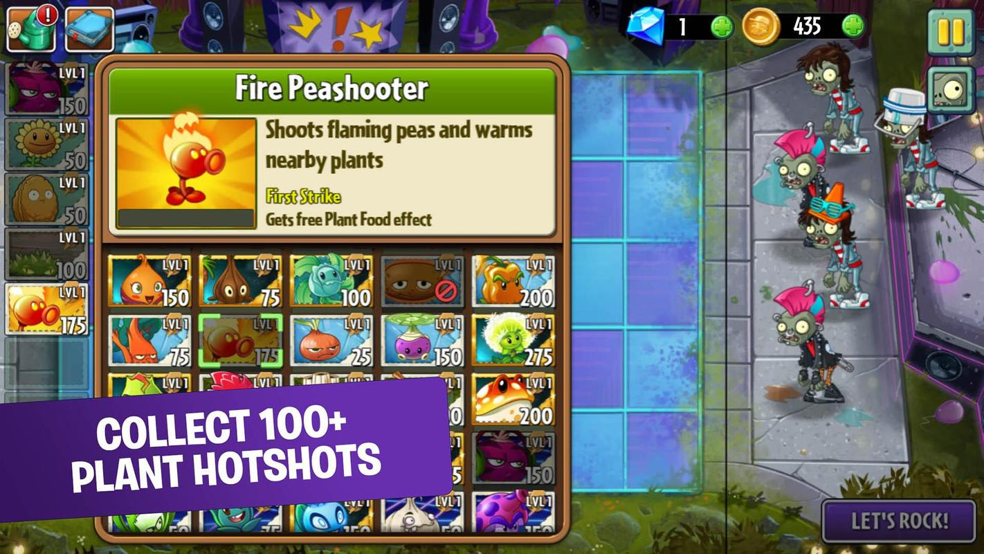 Plants vs zombies 2 pc free download full version rar