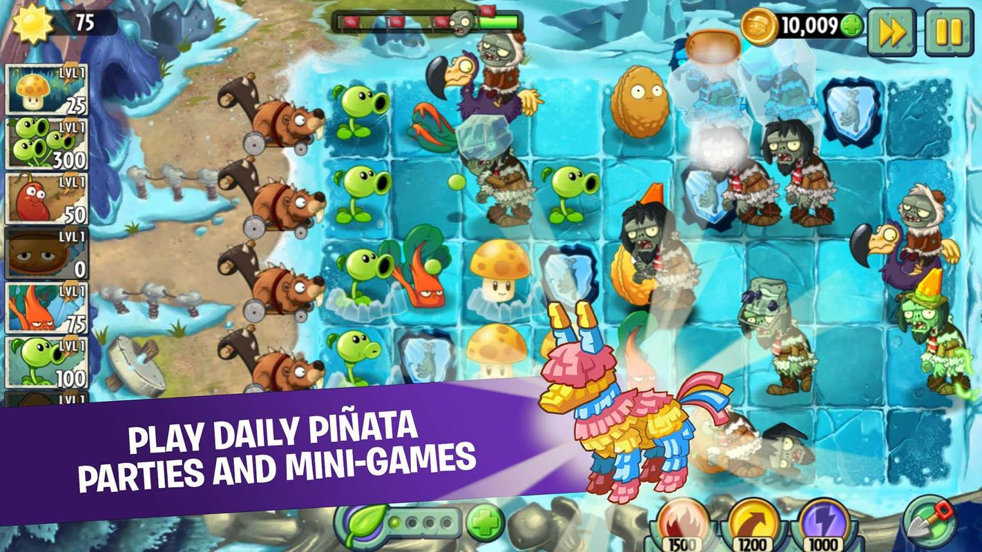 Plants vs. Zombies 2 7. 0. 1 download for android apk free.