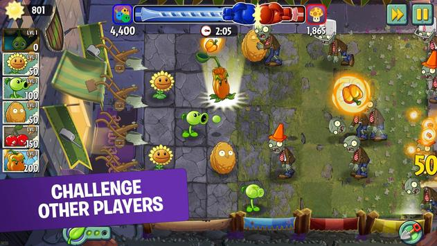 Plants vs Zombies 2 Free captura de pantalla 3