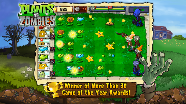 Plants vs. Zombies FREE poster