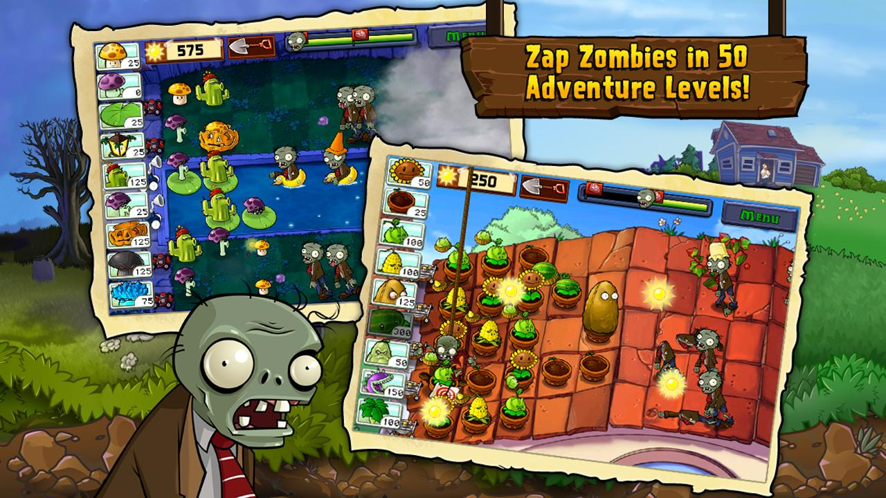 Plants Vs Zombies Free For Android Apk Download