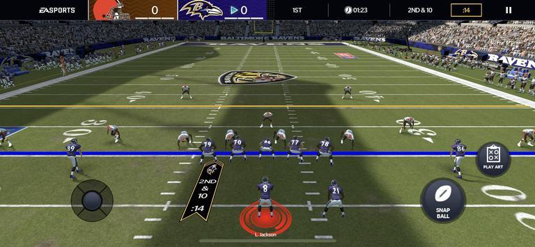 Madden NFL скриншот 1