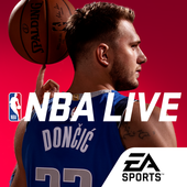Download Game Sports android antagonis NBA LIVE Mobile Basketball free