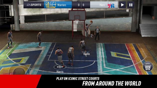 NBA LIVE Mobile Basketball تصوير الشاشة 3