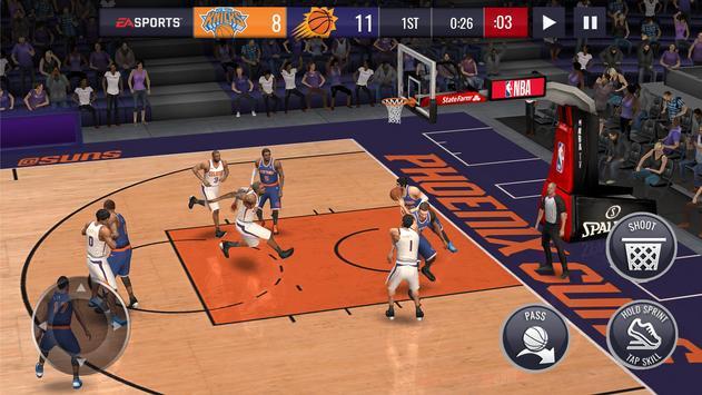 NBA LIVE Mobile Basketball تصوير الشاشة 13