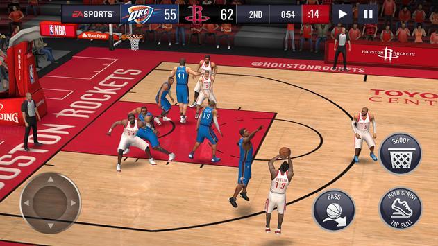 NBA LIVE Mobile Basketball تصوير الشاشة 19
