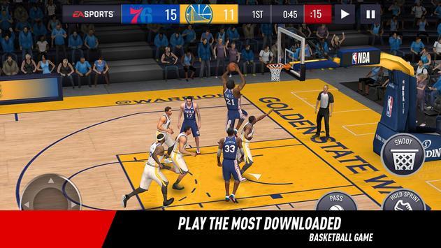 NBA LIVE 海報