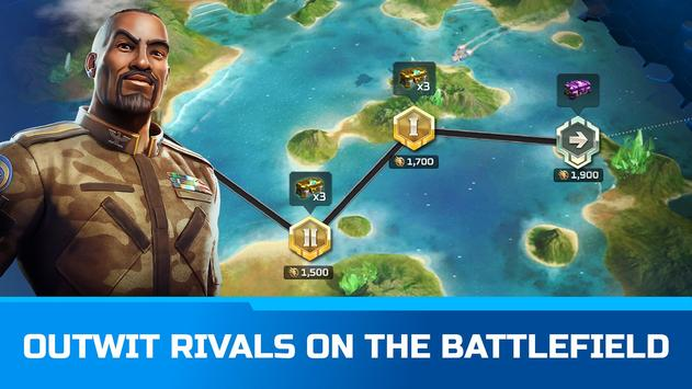Command & Conquer: Rivals PVP captura de pantalla 1
