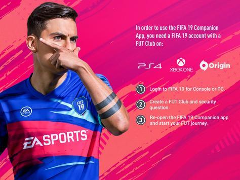 12 Schermata EA SPORTS™ FIFA 19 Companion
