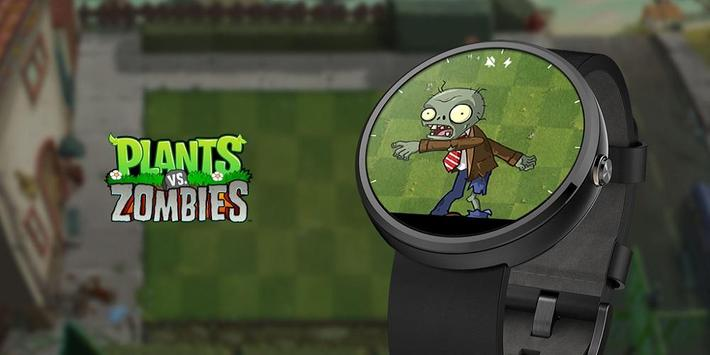 Plants vs. Zombies™ Watch Face poster