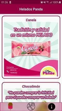 Helados Panda poster