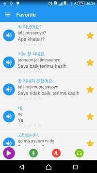 Belajar bahasa Korea harian syot layar 5