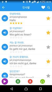Learn Korean täglich - Awabe Screenshot 1