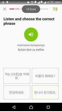 Learn Korean täglich - Awabe Screenshot 7