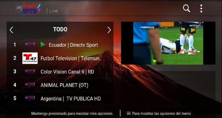 Eagle Iptv for Android - APK Download