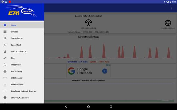Network Manager - Network Tools & Utilities (Pro) imagem de tela 8