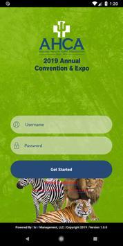 AHCA Convention screenshot 1