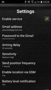 Car Security Alarm Pro screenshot 1