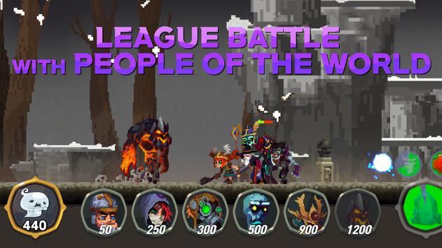 LeagueMon VIP - League Monster Defence poster
