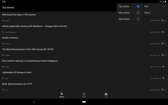 Hacker News screenshot 13